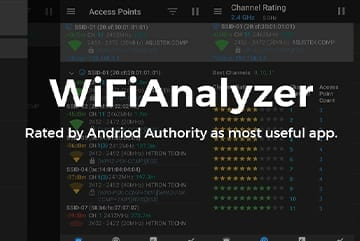 Wifi Analyzer Screen Image