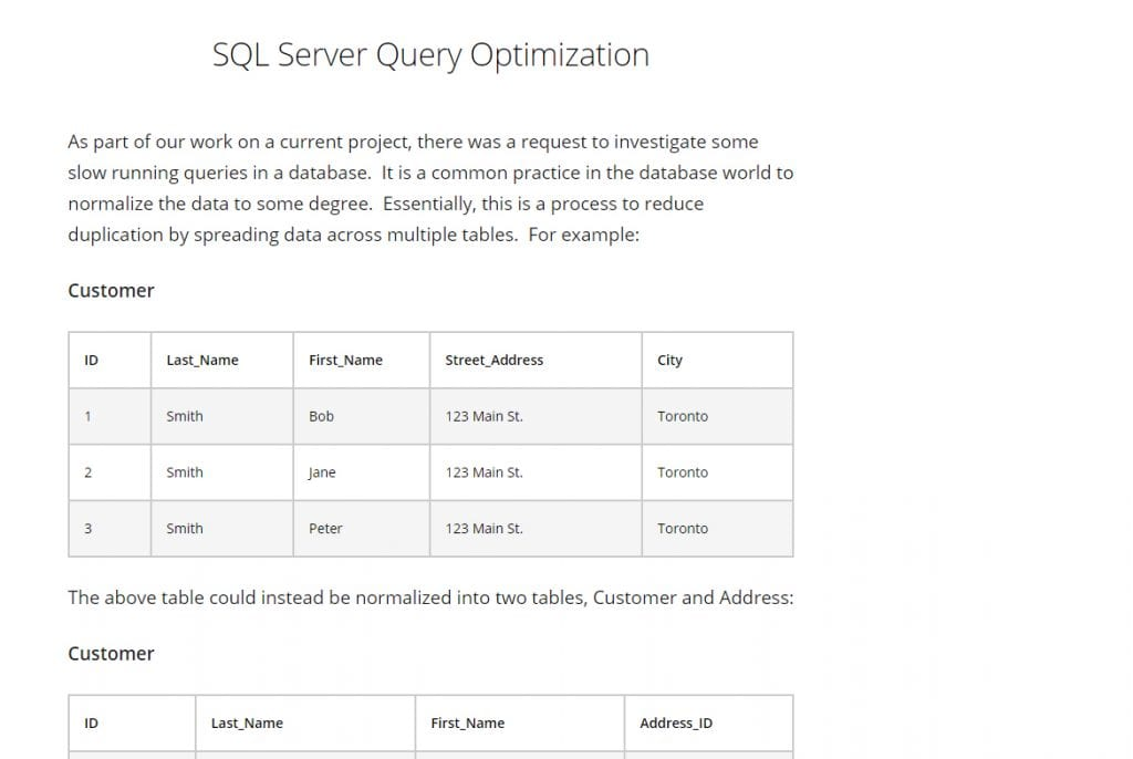 SQL-Server-Query-Optimization
